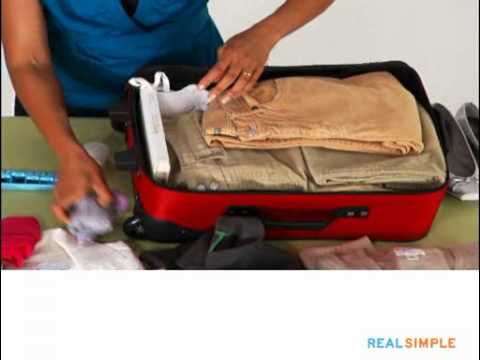 Real Simple How To: Pack a Suitcase
