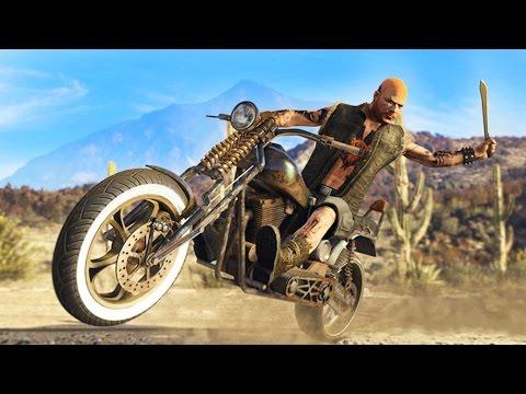 GTA 5 - ULTIMATE BIKER DLC SPENDING SPREE!! NEW GTA 5 Biker DLC Bikes Showcase! (GTA 5 Online DLC)