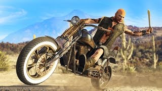 GTA 5 - ULTIMATE BIKER DLC SPENDING SPREE!! NEW GTA 5 Biker DLC Bikes Showcase! (GTA 5 Online DLC)