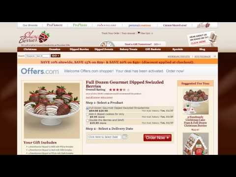 Shari's Berries Coupon Code 2013 - How To Use Promo Codes And Coupons For Berries.com