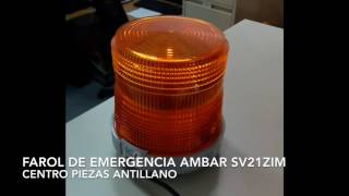 Farol de Emergencia Ambar SV21ZIM