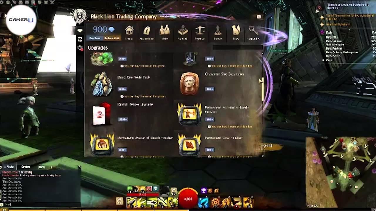 gw2 max character slots