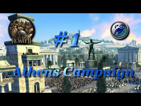 Total War: Rome II-Athens Campaign #1~Establishing a Proper Greek State!