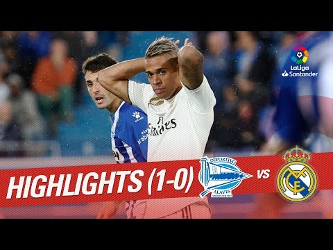 Highlights Deportivo Alaves vs Real Madrid (1-0)