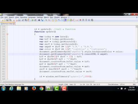JavaScript Using InnerHTML