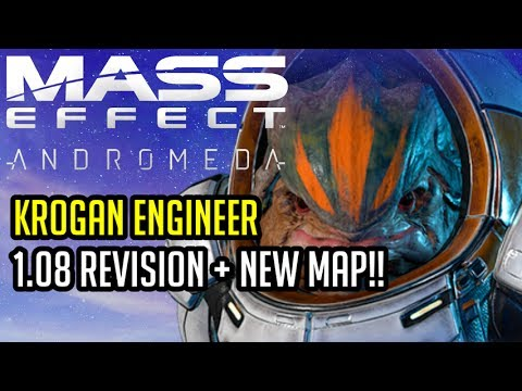 NEW MAP!! The Krogan engineer revisited - Mass Effect Andromeda Multiplayer (A-Z Playthrough)