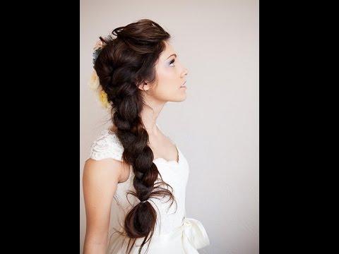 Bridal Side Braid For Wedding - YouTube