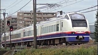 特急しらゆき5号新潟行きE653系H203編成 信越本線上り3015M