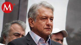 AMLO llega a Oaxaca tras balaceras en Culiacán