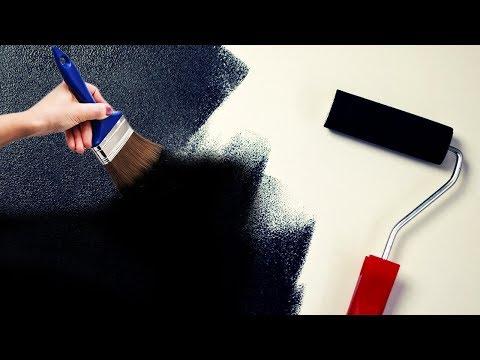 Как из матовой краски сделать глянцевую для стен