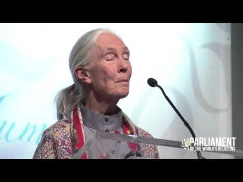 Dr. Jane Goodall Gives Amazing Parliament Keynote Address