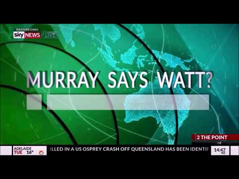 Murray Watts in a Sky News segment - Murray Says Watt!?