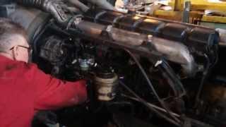 Запуск дизельного двигателя RENAULT ( 420 л .с. )