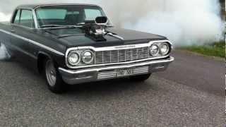 Impala ss -64 burnout