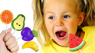 Color Fruits Song Learn Colors & Healthy Eating for Kids Nursery Rhymes |동요와 아이 노래 | 어린이 교육
