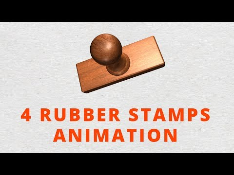 Rubber Stamps Animation - After Effects Project Files