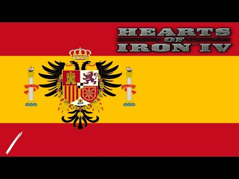 Hearts of Iron IV - Central Powers Spain - EP. 1