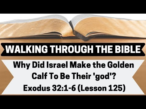 Why Did Israel Make A Golden Calf To Be Their 'god'? [Exodus 32:1-6][Lesson 125][W.T.T.B.]