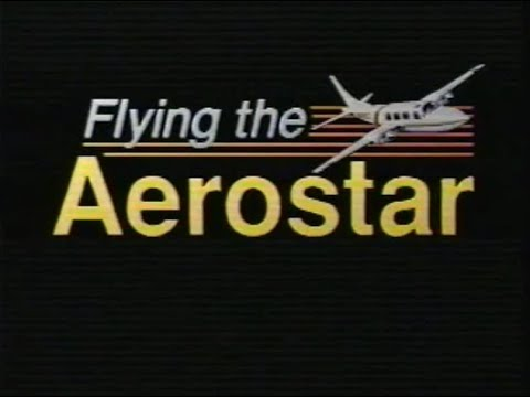 Old Flying the Aerostar Video