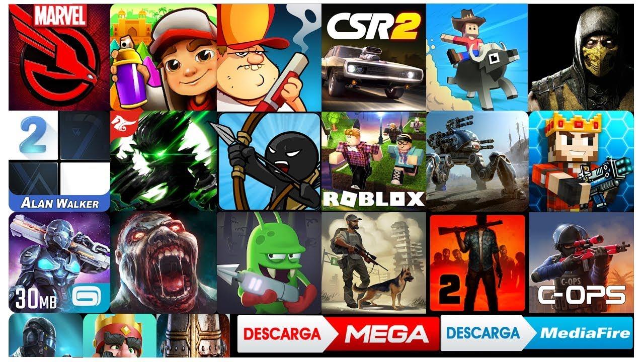 juegos apk full mega 2018