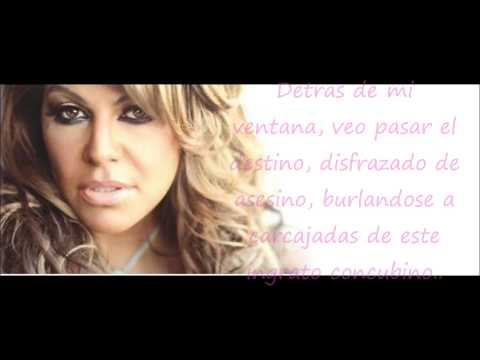 Jenni Rivera - Detras De Mi Ventana (Con Letra) Joyas Prestadas Con Banda