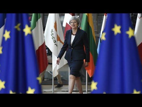 فرانس 24:May makes Brexit plea as EU steps up plans for no deal