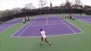 Raheel Manji (Indiana) vs #9 Konrad Zieba (Northwestern) NCAA Tennis