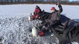 Ловля судака зимой  Новые технологии  Комфорт+результат  24 02 2014.