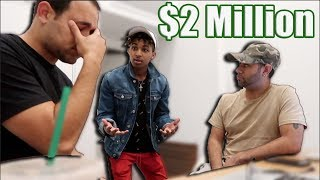 I DON'T WANT TO MAKE MUSIC ANYMORE PRANK ON MANAGERS!! (THEY GET EMOTIONAL) thumbnail
