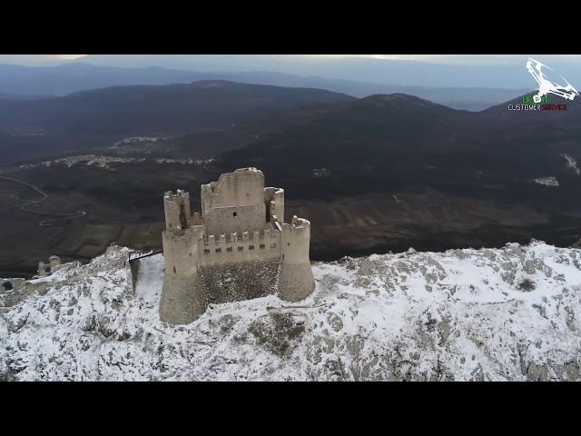 Castello Medievale di Rocca Calascio riprese aeree con droni di Droni Customer Service