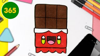 Comment Dessiner Du Chocolat Kawaii Dessins Kawaii Faciles Dessiner De La Nourriture Kawaii Youtube
