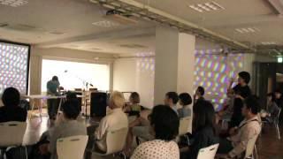 Akihiko Taniguchi and Atsushi Tadokoro Live at Materializing Exhibition