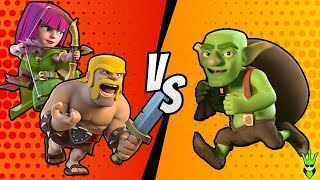 "BARCH or GOBLINS? - Let's Play TH8 - ""Clash of Clans"""