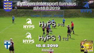 Tyttöjen Intersport-turnaus 2019 HyPS P10 vs HyPS 1 T12