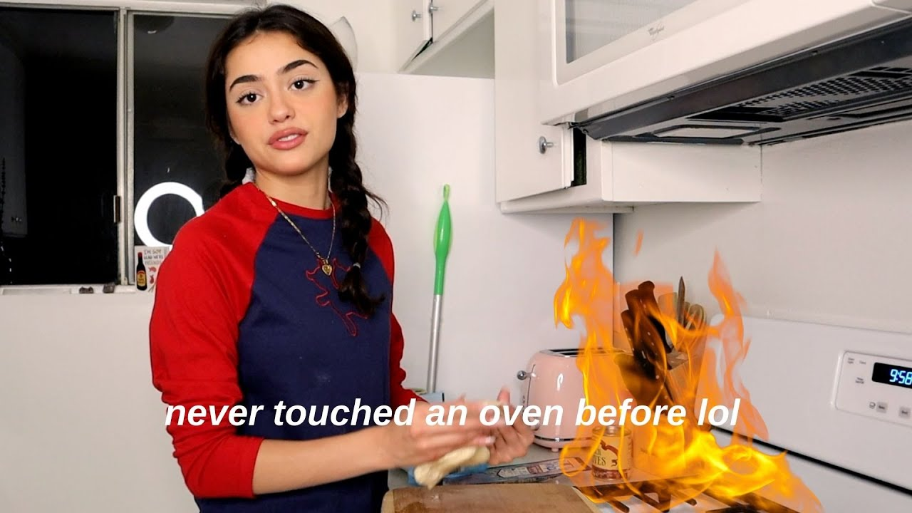attempting to cook for the first time