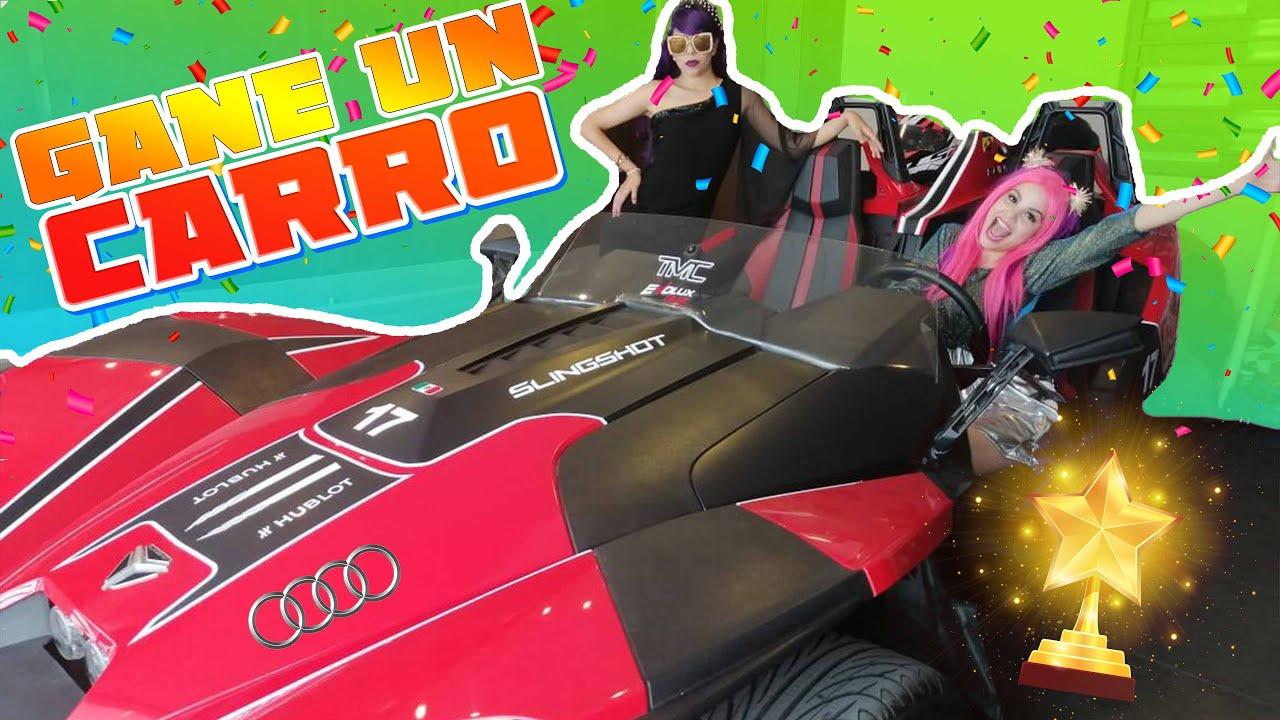 ME GANE UN AUTOMOVIL - mi nuevo carro / Mali y Emita