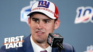 'There's nothing wrong' with the Giants drafting Daniel Jones at No. 6 - Mel Kiper Jr. | First Take
