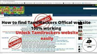 How To Find New Link Of TamilRockers 2019? 100%working Very Easy Method
