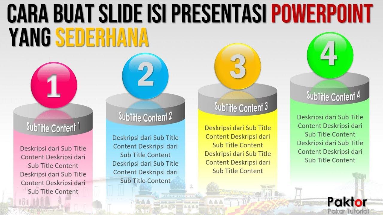 Cara Buat Slide Isi Presentasi PowerPoint yang Menarik ...