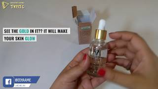 meiYanQiong - 24k Gold Serum Unboxing Video - Available only on ZOYAAME