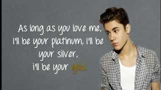 (LYRICS)As Long As You Love Me - Justin Bieber ft. Big Sean HD