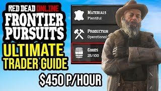 Red Dead Online Ultimate Trader Money Guide - Trader Role \u0026 XP Guide!