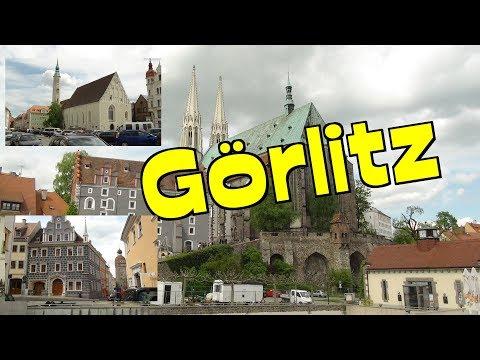 Görlitz in Sachsen-Unversehrter historischer Stadtkern *Sehenswürdigkeiten in Sachsen