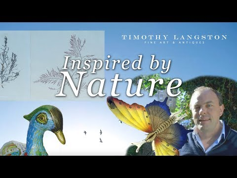 Inspired by Nature: Timothy Langston Fine Art & Antiques featuring Cloisonné objects