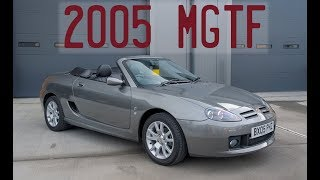 2005 MG TF - The last delivery mileage TF available