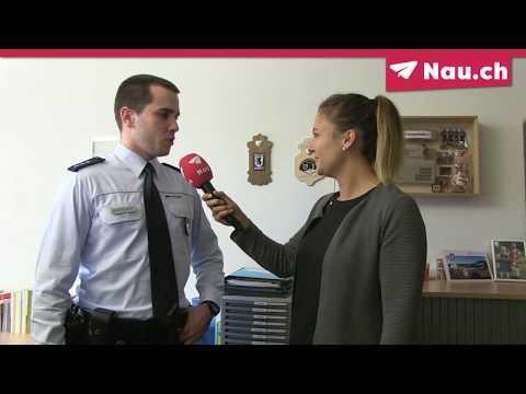 Deutscher Polizist im Praktikum bei der Kantonspolizei Appenzell Ausserrhoden