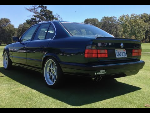 modified bmw e34 540i one take youtube. Black Bedroom Furniture Sets. Home Design Ideas