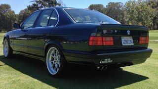 Modified BMW E34 540i -  One Take