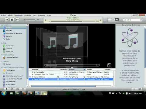 como convertir archivos de audio mp3 y wma al formato aac en itunes
