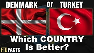 DENMARK or TURKEY - Which Country is Better?